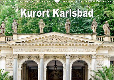 Kurort Karlsbad (Wandkalender 2019 DIN A3 quer), Nina Schwarze