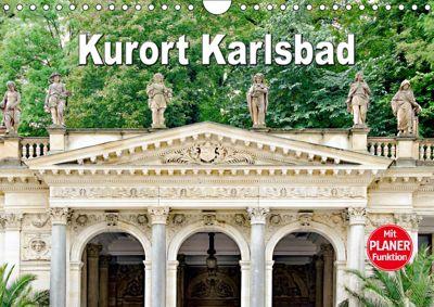 Kurort Karlsbad (Wandkalender 2019 DIN A4 quer), Nina Schwarze