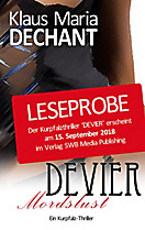 Kurpfalzthriller: DEVIER, Klaus Maria Dechant