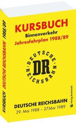 Kursbuch der Deutschen Reichsbahn 1988/89 -  pdf epub