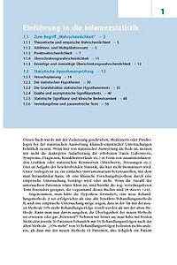 Kurzgefasste Statistik für die klinische Forschung - Produktdetailbild 1