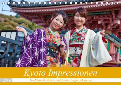 Kyoto Impressionen (Tischkalender 2019 DIN A5 quer), Michael Kurz
