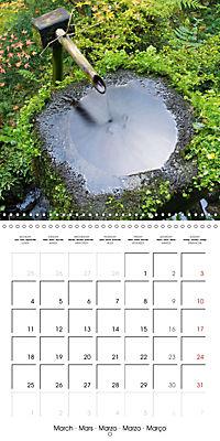 Kyoto (Wall Calendar 2019 300 × 300 mm Square) - Produktdetailbild 3