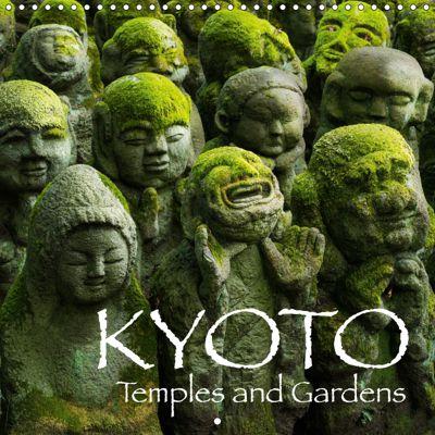 Kyoto (Wall Calendar 2019 300 × 300 mm Square), Jan Christopher Becke