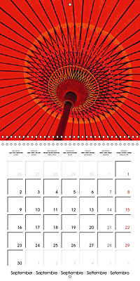 Kyoto (Wall Calendar 2019 300 × 300 mm Square) - Produktdetailbild 9