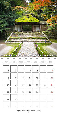 Kyoto (Wall Calendar 2019 300 × 300 mm Square) - Produktdetailbild 4