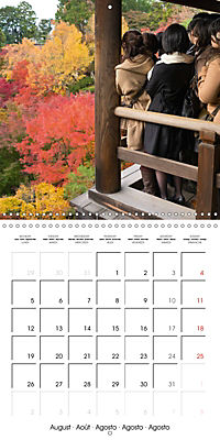 Kyoto (Wall Calendar 2019 300 × 300 mm Square) - Produktdetailbild 8