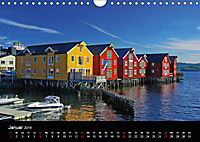 Kystriksveien und Trondheim (Wandkalender 2019 DIN A4 quer) - Produktdetailbild 1