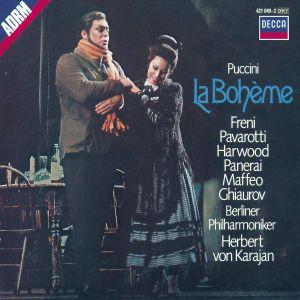 La Boheme (Ga), Freni, Pavarotti, Karajan, Bp