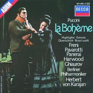 La Boheme (Qs), Freni, Pavarotti, Karajan, Bp