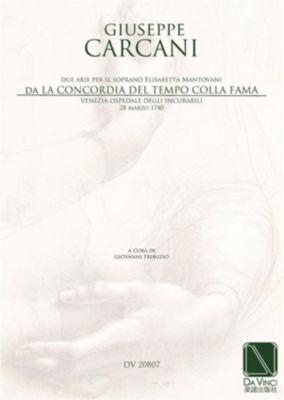 La Concordia del Tempo colla Fama, Giuseppe Carcani