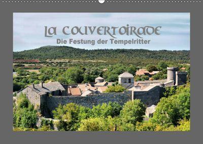 La Couvertoirade - die Festung der Tempelritter (Wandkalender 2019 DIN A2 quer), Thomas Bartruff