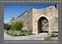 La Couvertoirade - die Festung der Tempelritter (Tischkalender 2019 DIN A5 quer) - Produktdetailbild 1