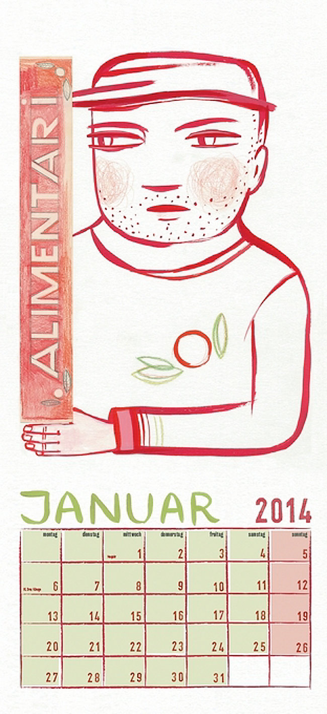 La cucina verde 2014 - Kalender günstig bei Weltbild.de bestellen