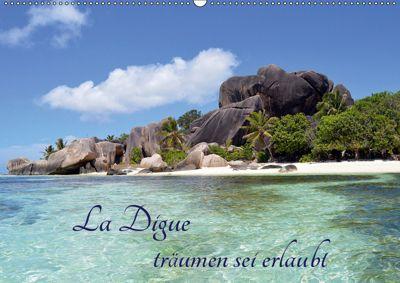 La Digue, träumen sei erlaubt (Wandkalender 2019 DIN A2 quer), Thomas Schroeder