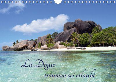 La Digue, träumen sei erlaubt (Wandkalender 2019 DIN A4 quer), Thomas Schroeder