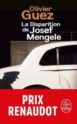 La disparition de Josef Mengele, Olivier Guez