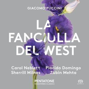 La Fanciulla Del West, Neblett, Domingo, Milnes, Mehta, Royal Opera House