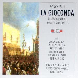 La Gioconda (Ga), Chor & Orch.Der Metropolitan Opera