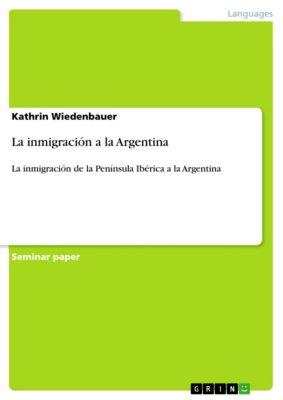 La inmigración a la Argentina, Kathrin Wiedenbauer
