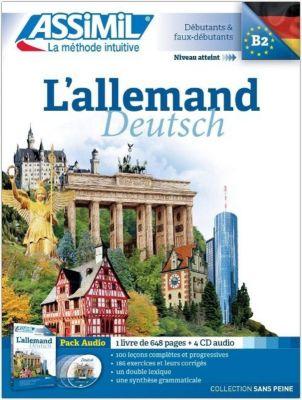 La methode Assimil, L' Allemand: Lehrbuch + 4 Audio-CDs, Gudrun Roemer