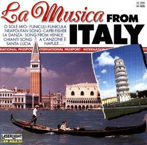 La Musica From Italy, Bruno Orchestra & His Mandoline Orchestra Bertone