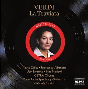 La Traviata, Santini, Callas, Albanese