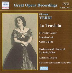 La Traviata, Molajoli, Capsir, Cecil, Galeffi