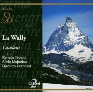 La Wally (1960), Tebaldi, Majonica, Prandelli, Gardino