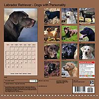 Labrador Retriever - Dogs with Personality (Wall Calendar 2019 300 × 300 mm Square) - Produktdetailbild 13