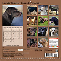 Labrador Retriever - Dogs with Personality (Wall Calendar 2019 300 × 300 mm Square) - Produktdetailbild 13