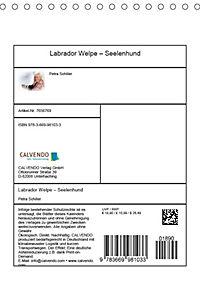 Labrador Welpe - Seelenhund (Tischkalender 2019 DIN A5 hoch) - Produktdetailbild 13