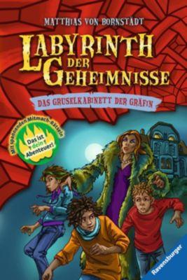 Labyrinth der Geheimnisse Band 2: Das Gruselkabinett der Gräfin, Matthias Bornstädt