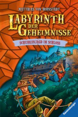 Labyrinth der Geheimnisse Band 5: Schurkenjagd im Schloss, Matthias Bornstädt