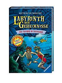 Labyrinth der Geheimnisse Band 6: Die Taucher im Teufelssee - Produktdetailbild 1