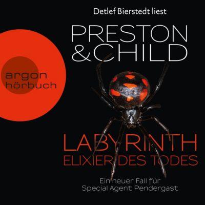 Labyrinth - Elixier des Todes (Autorisierte Lesefassung), Douglas Preston, Lincoln Child
