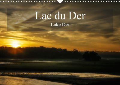 Lac du Der Lake Der (Wall Calendar 2019 DIN A3 Landscape), Alain Gaymard