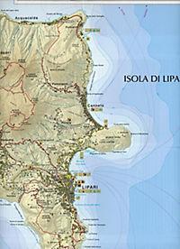 LAC Touristische Karte Eolie o Lipari - Produktdetailbild 2