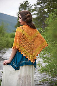 Lace stricken - Hauchzarte Tücher & Schals - Produktdetailbild 1