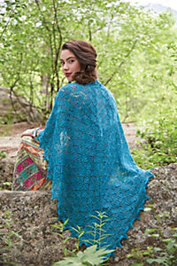 Lace stricken - Hauchzarte Tücher & Schals - Produktdetailbild 2
