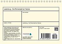 Ladenburg - Die Römerstadt am Neckar (Tischkalender 2019 DIN A5 quer) - Produktdetailbild 13