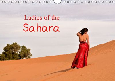 Ladies of the Sahara (Wall Calendar 2019 DIN A4 Landscape), Jon Grainge