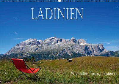 Ladinien - Wo Südtirol am schönsten ist (Wandkalender 2019 DIN A2 quer), Hans Pfleger