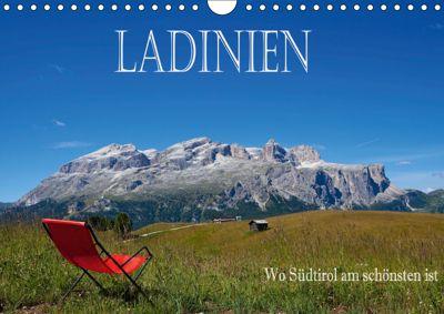 Ladinien - Wo Südtirol am schönsten ist (Wandkalender 2019 DIN A4 quer), Hans Pfleger