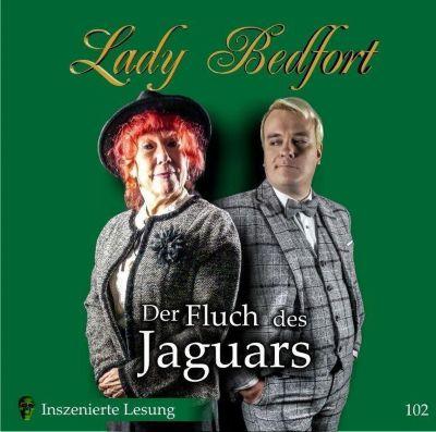 Lady Bedfort - Der Fluch des Jaguars, 2 Audio-CDs, Michael Eickhorst