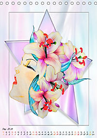 Lady Lilien (Tischkalender 2019 DIN A5 hoch) - Produktdetailbild 5