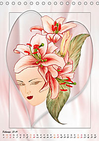 Lady Lilien (Tischkalender 2019 DIN A5 hoch) - Produktdetailbild 2