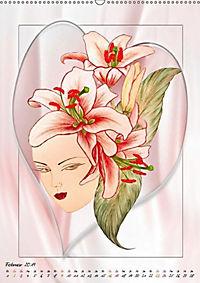 Lady Lilien (Wandkalender 2019 DIN A2 hoch) - Produktdetailbild 2
