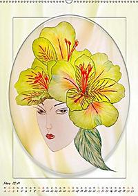 Lady Lilien (Wandkalender 2019 DIN A2 hoch) - Produktdetailbild 3