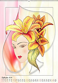 Lady Lilien (Wandkalender 2019 DIN A2 hoch) - Produktdetailbild 9